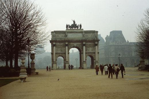 Frankreich, Paris, Sehenswürdigkeit, Arc du Carrousel, Musée de Louvre