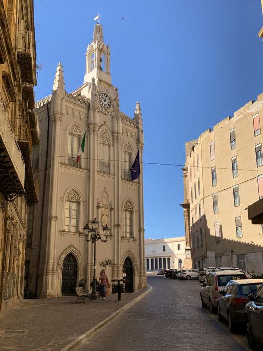 Italien, Sizilien, Sehenswürdigkeit, Agrigento, Kirche, Altstadt