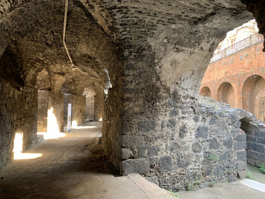 Italien, Sizilien, antike Stätte, Amphitheater, römisch, Sehenswürdigkeit