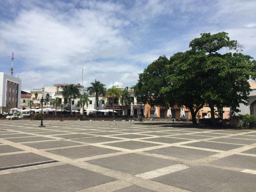 Plaza España, Dom Rep, Dominikanische Republik, Santo Domingo, Zona Colonial, Altstadt, Zentrum,