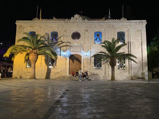 Kreta, Heraklion, Moschee, Sehenswürdigkeit, Zentrum, Agios Titos