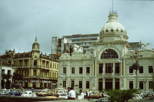 Brasil, Brasilien, Salvador de Bahia, Palacio Rio Branco