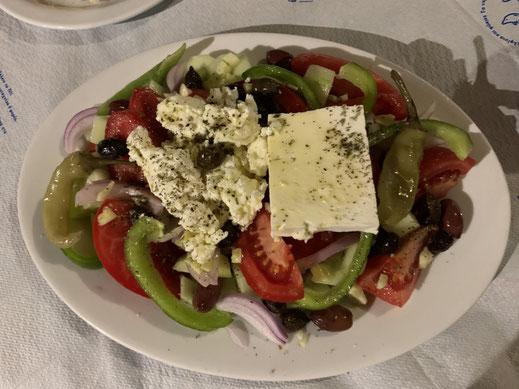 Griechenland, Kreta, Sehenswürdigkeit, Reisebericht, highlight, Urlaub, Salat, feta, kretischer Käse