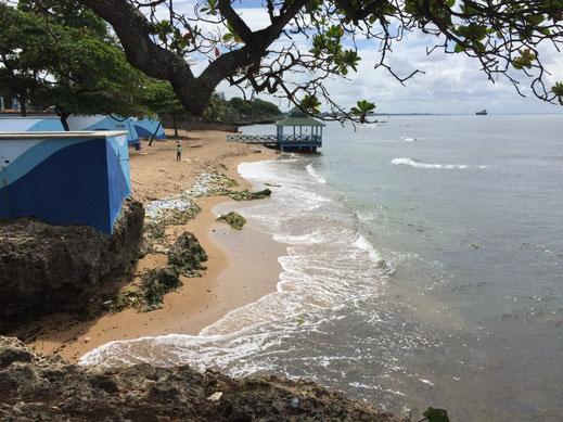 Dom Rep, Dominikanische Republik, Santo Domingo, Promenade, Malecon, Ufer, Playa Güibia
