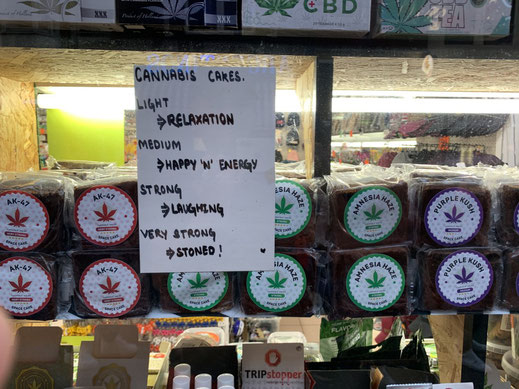 Niederlande, Holland, Amsterdam, Zentrum, Coffeeshop, Cannabis, mushrooms, Marihuana, drugs