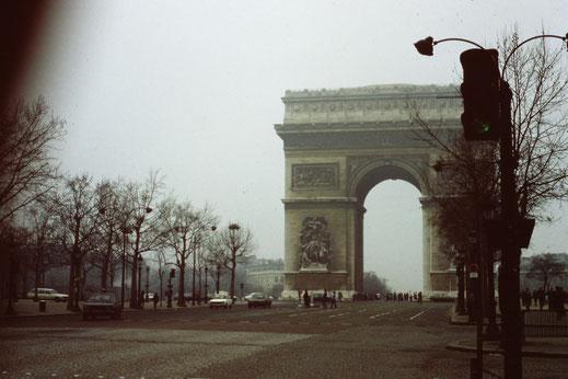 Frankreiche, Paris, Arc de Triomphe, Sehenswürdigkeit