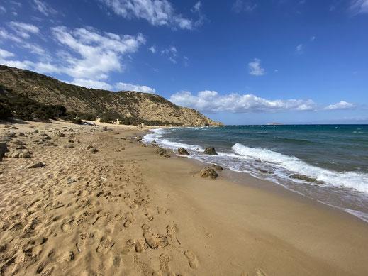 Agios Ioannis, Kreta, Gavdos, Sarakiniko, Sandstrand, Beach