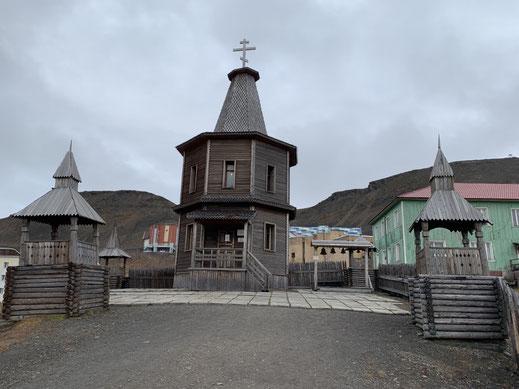 Spitzbergen, Svalbard, Barentsburg, Kirche