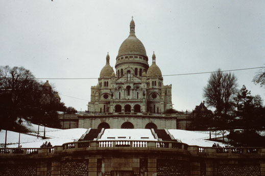 Frankreich, Paris, Sehenswürdigkeit, Sacré-Coeur de Montmartre