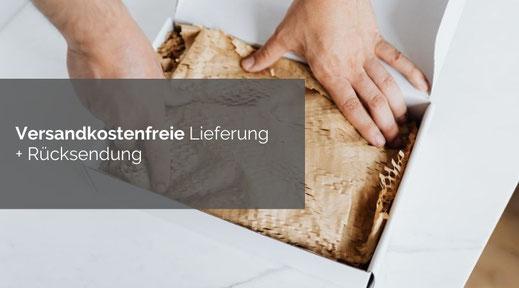 Kostenlose Lieferung innerhalb Deutschland, Österreich und Schweiz