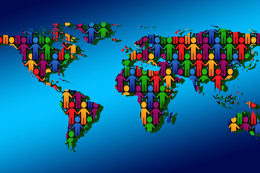 Die Welt im Monat Juli - Flüchtlinge