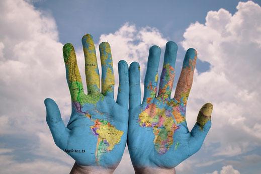 Wie kann ich die Welt verbessern - Verbindung mit der Natur