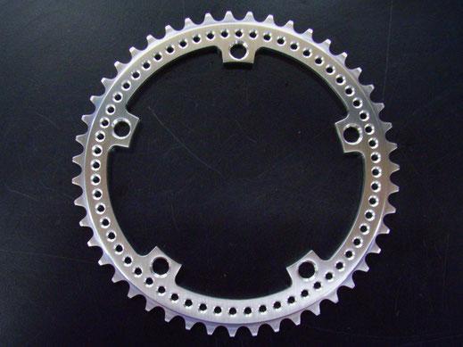Drillium Track Chainrings fixie cnc bcd 144  cnc machined bespoke track chainring design australian made chainrings fixie