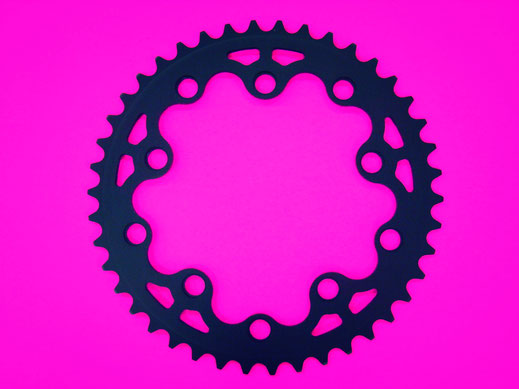 Custom design bespoke cnc chainring
