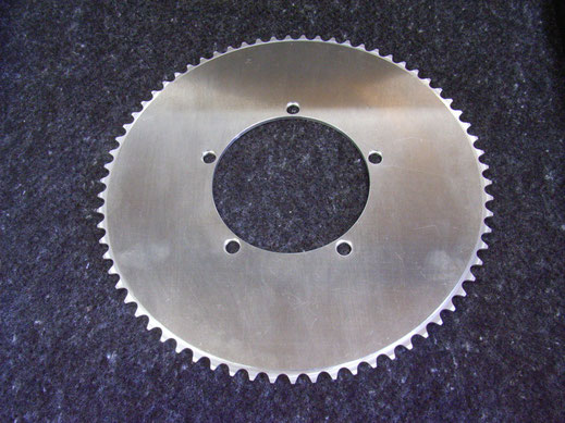 Australian made Custom Bespoke Chainring Design BCD
