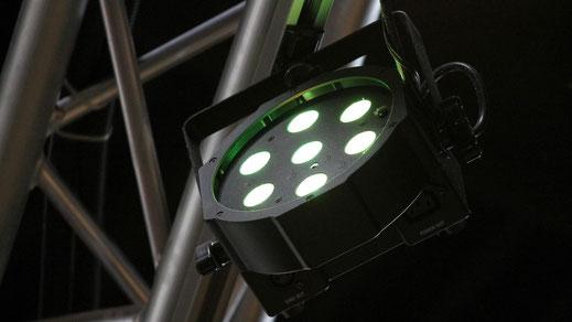 Lichttechnik, LED Lampen mieten von JP Eventworks