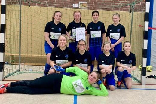 Foto der C-Mädchen aus der Saison 2018/2019
