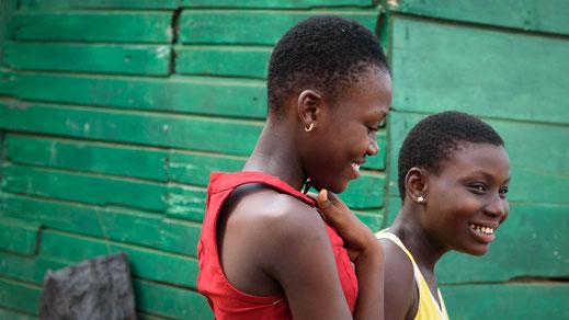 Foto Walter Schwab - Gottesdienst in Bawaleshie, Ghana