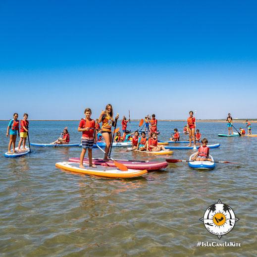 Paddle Surf y Piragua alumnos colegios
