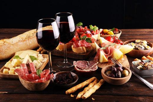 Wehcselnde Themenabende mit wine & food im adoro gusto in Kirchheim-Teck