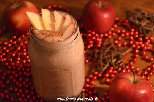 Apfel Zimt Weihnacts-Smoothie