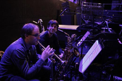 Marc König (Trumpet), Sven Pudil (Sax, Flute...)