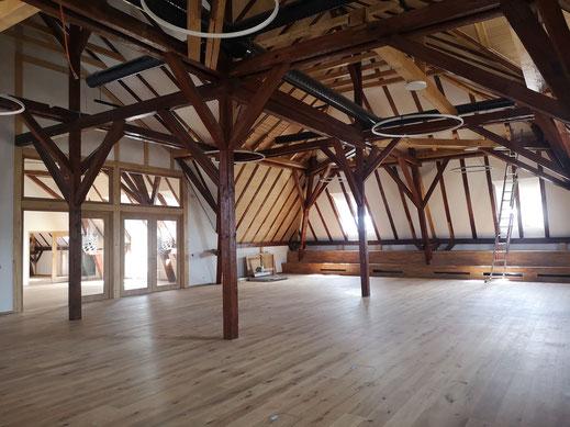 Rathaus Nittenau, Sanierung, Denkmalschutz, Historisches Dach, Architektur, Architekturbüro Götzer, Bauen im Bestand, Nittenau