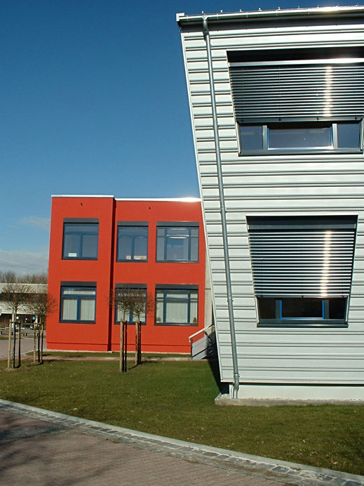 Regental Gymnasium Nittenau Erweiterung Umbau  Alu Fassade