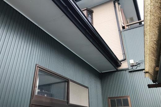 カバーリング工法で施工した外壁|大宮の雨漏り修理工事