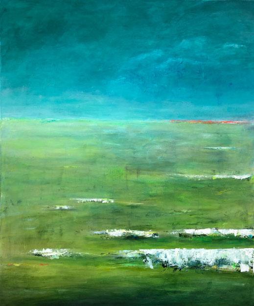 Grün| Acryl | 120 x 100 cm