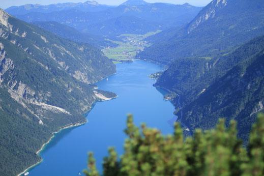 Blick vom Bärenkopf auf den Achensee
