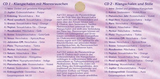 Klangschalen Chakra Meditation ~ Booklet