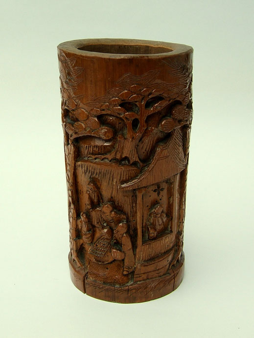 """Chinese bamboo carving1"" by MPF - ಸ್ವಂತ ಕೆಲಸ. Licensed under CC BY 2.5 via Wikimedia Commons - https://commons.wikimedia.org/wiki/File:Chinese_bamboo_carving1.jpg#/media/File:Chinese_bamboo_carving1.jpg"