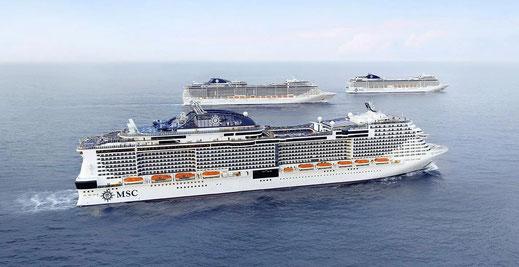 Details der Reiseanforderungen und des Gesundheits- und Sicherheitsprotokolls von MSC Cruises