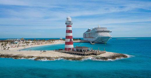 MSC Divina startet von ihrem neuen Heimathafen Port Canaveral/Orlando