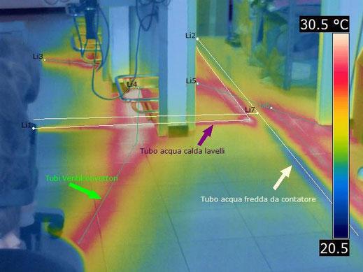 termografia mappatura impianto