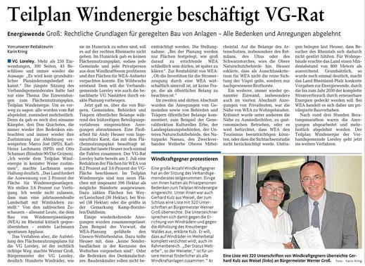 Rhein-Lahn-Zeitung v. 27.11.2014