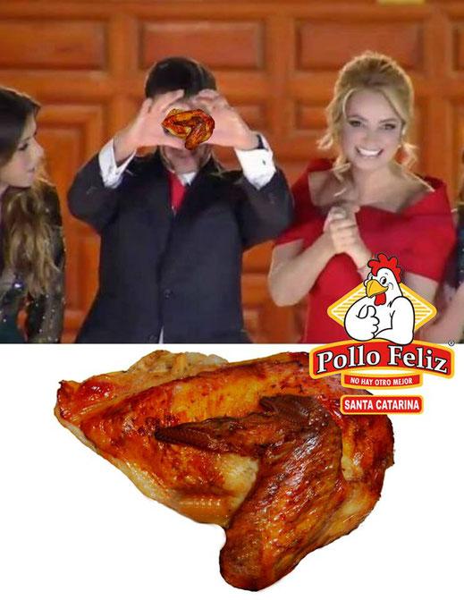 """La """"peña señal"""" de Enrique Peña Nieto pollo feliz santa catarina"""