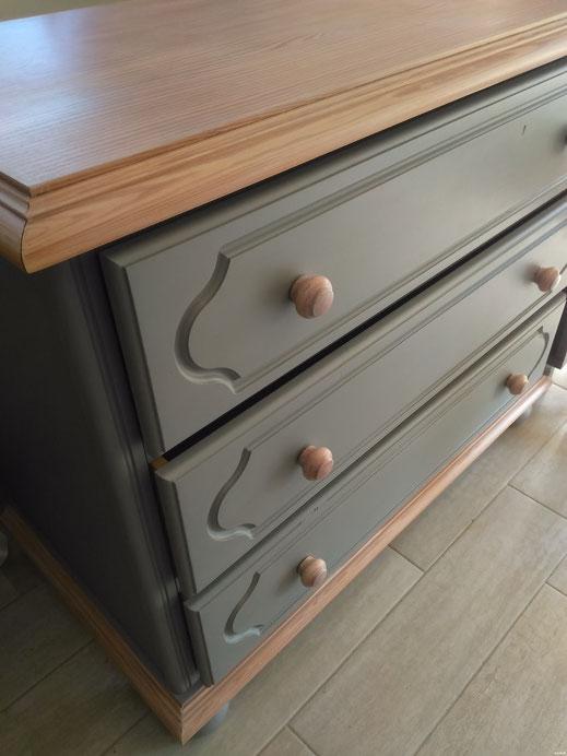 relooking chambre meuble commode chevet lit gris bois le mans sarthe