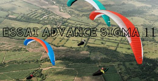 Test parapente Advance Sigma 11