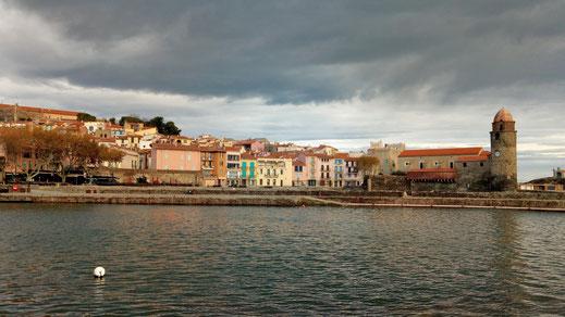 Rando Niveau 1 de Randos Canétoises , Les hauts de Collioure le 23 nov 2018