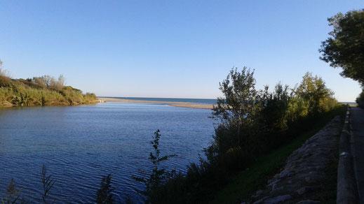 Marche de Randos Canétoises - Canet jusqu'à l'embouchure de la Tët - 16 oct 2018