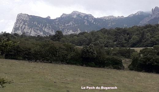 Randos Canétoises en rando Niveau2  Caudiès , le chemin du facteur  le 18 sept 2018