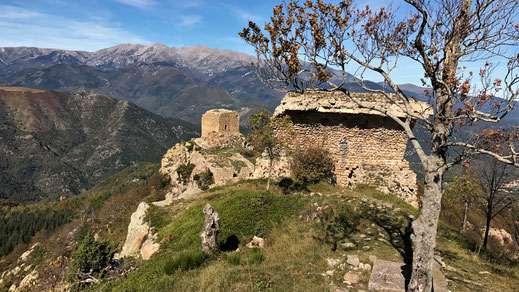 Rando découverte au départ de Lamanere vers les tours de Cabrens  - 24 octobre 2017