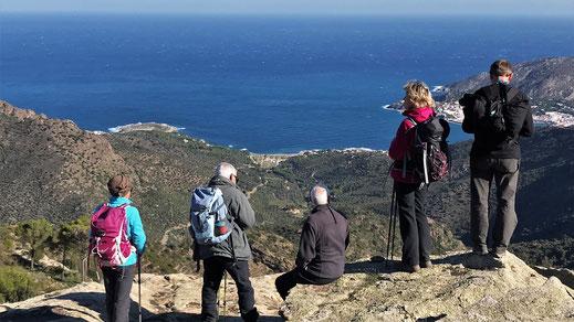 Randos Canétoises vous propose une randonnée de difficulté moyenne, à la journée d'un dénivelé inférieur à 600 m, de moins de 15 Kms, indice IBP inférieur à 70, c'est la rando découerte