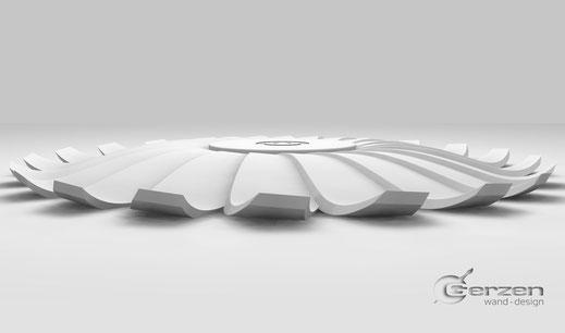3D Raummodul - Design GERZEN - Neue Generation vom Stuck