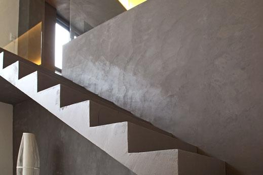 Spachtelbeton - Beton Cire von Gerzen wand-design