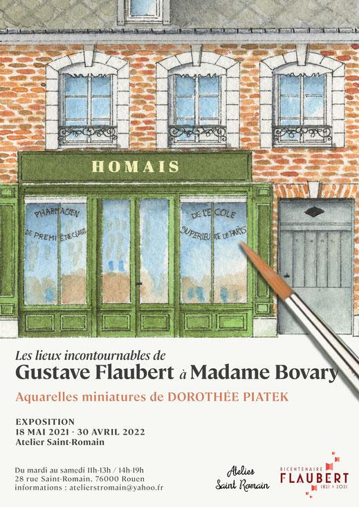 Gustave Flaubert, Flaubert21, exposition, madame bevy, bovary, musée gustave flaubert