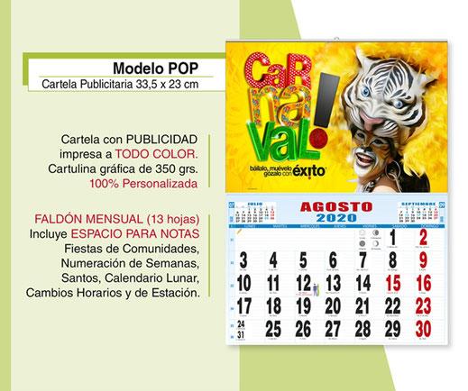 Calendario Lunar 2020 Espana.Calendarios Publicitarios 2020 Calendarios Publicitarios Sobremesa