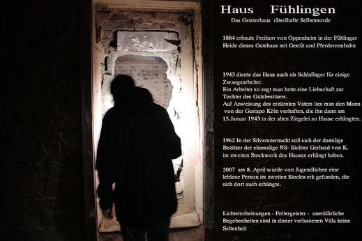 Das Geisterhaus in Fühlingen bei Köln